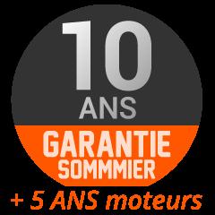 Garantie 10 ans sommier & 5 ans moteurs