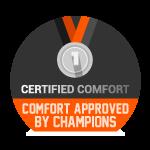 Confort testé par des champions - Certifié confort