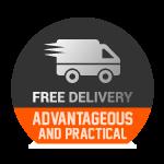 Avantageux et pratique - La livraison est offerte
