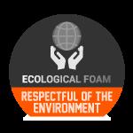 Respectueux de l'environnement - Mousse écologique