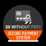 Paiement sécurisé comptant ou 3X sans frais