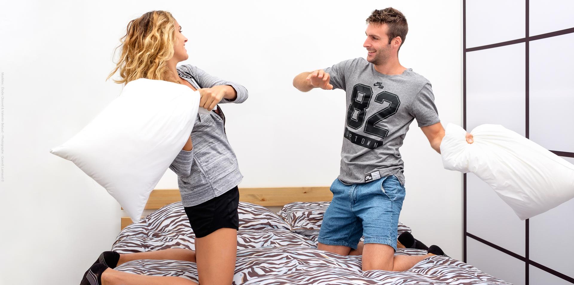 Vaudou Sport Evolution, le seul matelas au monde capable de mettre tous les couples d'accord.